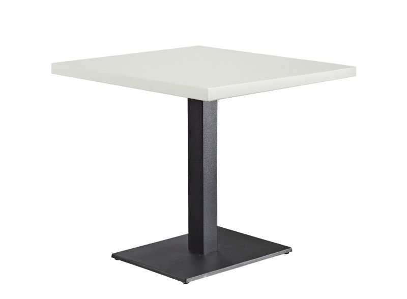 Tischkombination Quadratisch Weiß 38mm