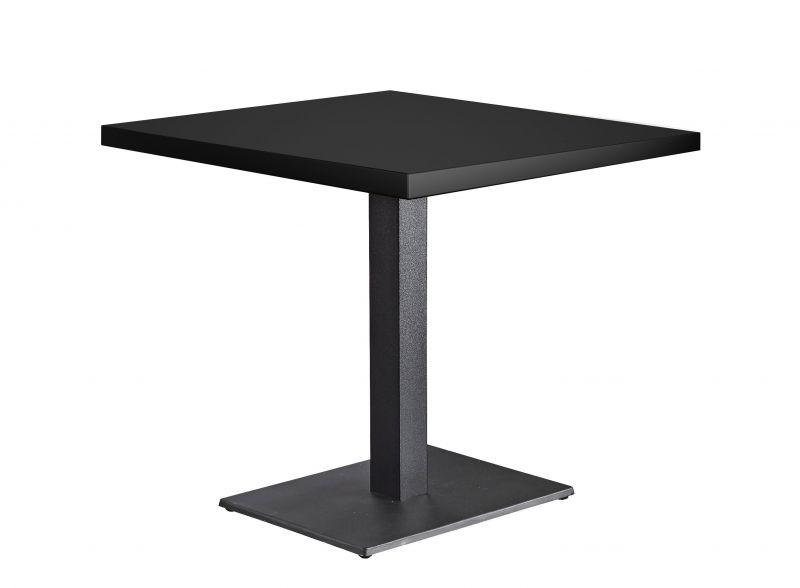 Tischkombination Quadratisch Schwarz 38mm